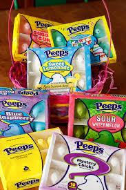 peeps basket peeps taste test easter basket mystery peeps walmart exclusive