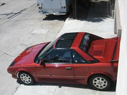 for sale 1988 red supercharged toyota mr2 t top manual