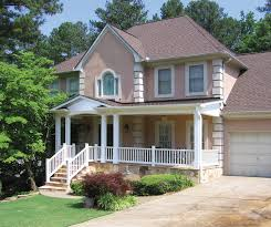 houses with front porches unlock houses with front porches new porch on stucco home atlanta