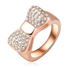 cute rings images Lovely bow rose gold promise ring for her new promise rings jpg