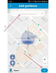 android geofence start guide pawtracker