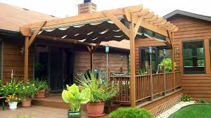 pergola stunning retractable roof pergola kit control the sun