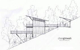 Building A House On A Slope The Deck House Choo Gim Wah Architect Archdaily