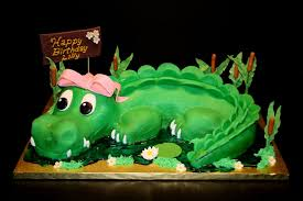 alligator cakes u2013 decoration ideas birthday cakes