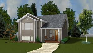 House Plans Without Garage Narrow Lot Plans By Edesignsplans Ca 1