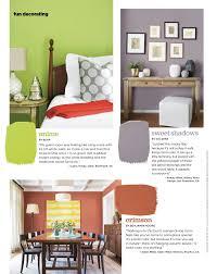 what color is orange featured hgtv magazine