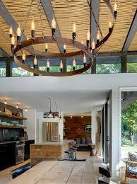 Modern Interior Design Ideas Natural Rope Ceiling Design And - Barn interior design ideas