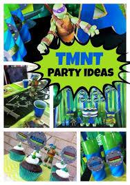 teenage mutant ninja turtles birthday party spaceships laser