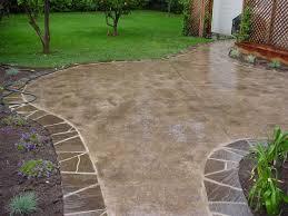Concrete Backyard Patio by 12 Best Patio Ideas Images On Pinterest Concrete Patio Designs