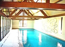 Indoor Pool House Plans Sleek Architectural Home Design With Elevated Swimming Pool Luxury