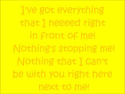 s a happy song by the muppets with lyrics