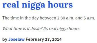 Definition Of Meme Urban Dictionary - real nigga hours know your meme