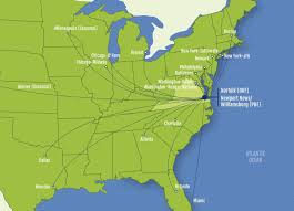 Chicago Airports Map by Maps Center Hampton Roads Economic Development Alliance