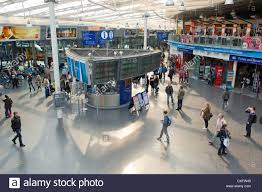 The Manchester Foyer The Inside Foyer Of Manchester Piccadilly Railway Train Station On