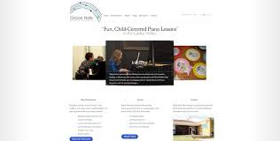 web design home based business theme based design for grace note piano connective web design