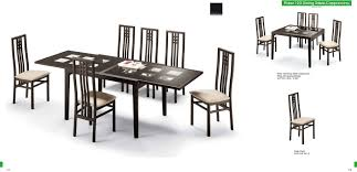 Modern Dining Furniture Coaster Modern Dining Contemporary Dining Room Set With Glass