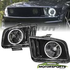 2009 ford mustang accessories ccfl halo 2005 2006 2007 2008 2009 ford mustang black ccfl halo