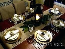 Formal Setting Of A Table Formal Dining Table Setting Image Brokeasshome Com