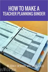 desk planner template how to make a teacher planning binder binder basics how to make a teacher planning binder finally a smart way to do lesson planning