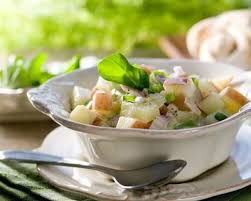 comment cuisiner les tomates vertes recette salade de pommes de terre courgette et tomates vertes