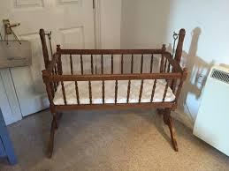 serenade dark wood swinging crib cot in brighton east sussex