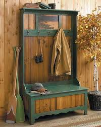rustic pinecone bench and coat rack wild wings