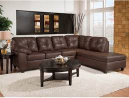 Sectional Leather Sofas With Chaise Small Leather Sofa With Chaise Facil Furniture