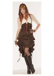 saloon womens halloween costume steampunk saloon women skirt accessories