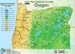 Gardening Zone By Zip Code - usda oregon growing zone for plants map