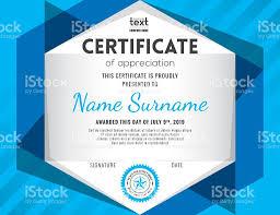 modern certificate background design template stock vector art