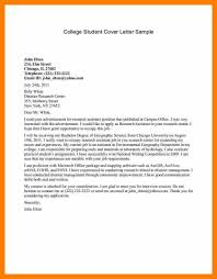 free resume cover letter template 6 sample student cover letter science resume free editable resume 6 sample student cover letter science resume