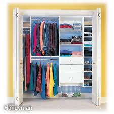 closet organizers storage the family handyman
