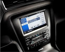 ford mustang audio system ford mustang to get sync applink access via navigation system