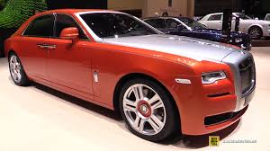 rolls royce ghost red interior 2015 rolls royce ghost series ii exterior and interior