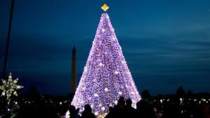 national christmas tree lighting 2016 watch president trump lights national christmas tree wjla