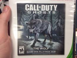 guard skin called the wolf coming to ghosts for 2 update