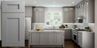 grey kitchen cabinets b q dove gray shaker panel assembled kitchen cabinets