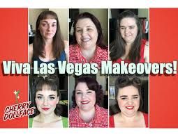 hair and makeup vegas vintage hair makeup makeovers viva las vegas 2016 by cherry