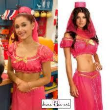 grande costume pink genie costume arianna grande