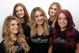 hair candy extensions top hairdressers gold coast hair candy team in australia