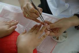 a personal injury lawsuit was filed against a nail salon after a