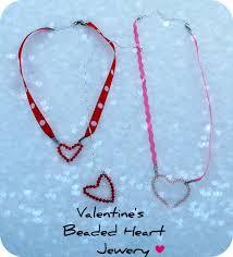 valentine gift idea make handmade heart jewelry