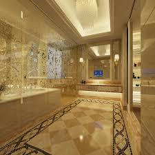 Upscale Home Decor Bathroom White Luxury Ensuite Design Ideas Marble Theme With
