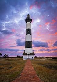 North Carolina how does light travel images Bodie island lighthouse sunrise cape hatteras outer banks nc jpg