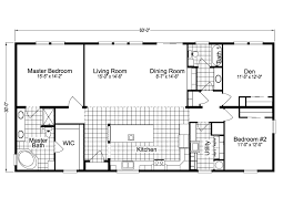 malibu 30603b manufactured home floor plan or modular floor plans