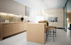 oak fitted kitchen minimal varenna by poliform mix it uppers