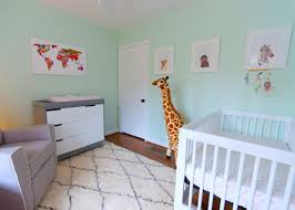 Mint And Grey Bedroom by Adventurous Tastes A Mint Green Animal Themed Nursery