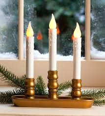 s electric window candles with sensor electric window