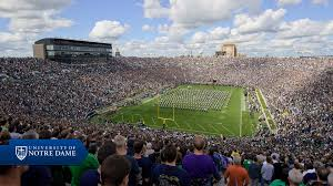 Notre Dame Stadium Map Sights And Sounds Visitors University Of Notre Dame