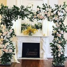 wedding arch nyc wedding ceremony floral arch best wedding florist nyc